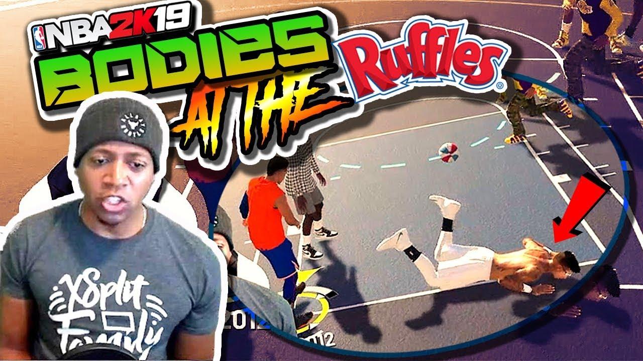 BODIES At The RUFFLES / Shot Slasher Animations Update - NBA 2K19 4v4