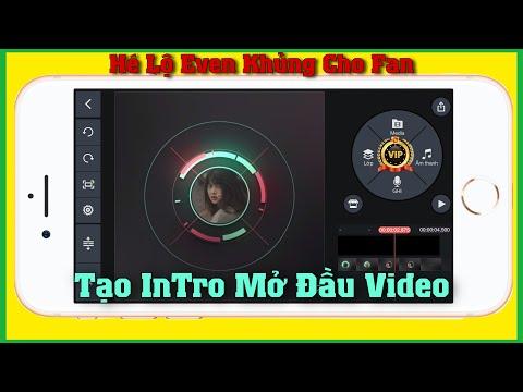 Hướng Dẫn Làm Intro Mở Đầu Video Bằng KineMaster  Bin Tôm Tv