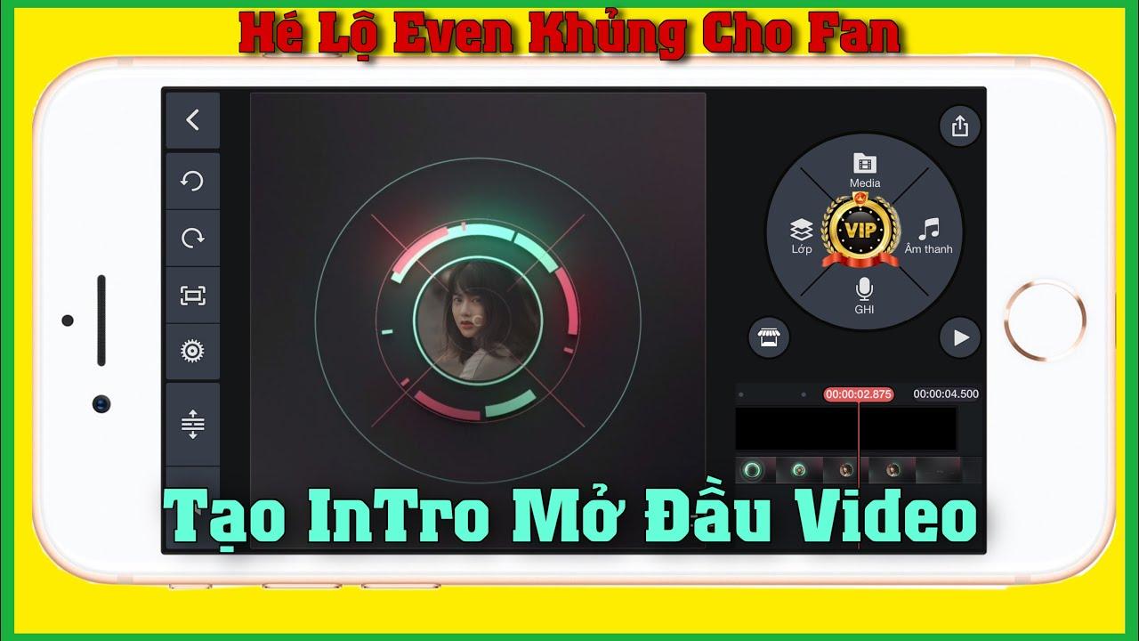Hướng Dẫn Làm Intro Mở Đầu Video Bằng KineMaster |Bin Tôm Tv