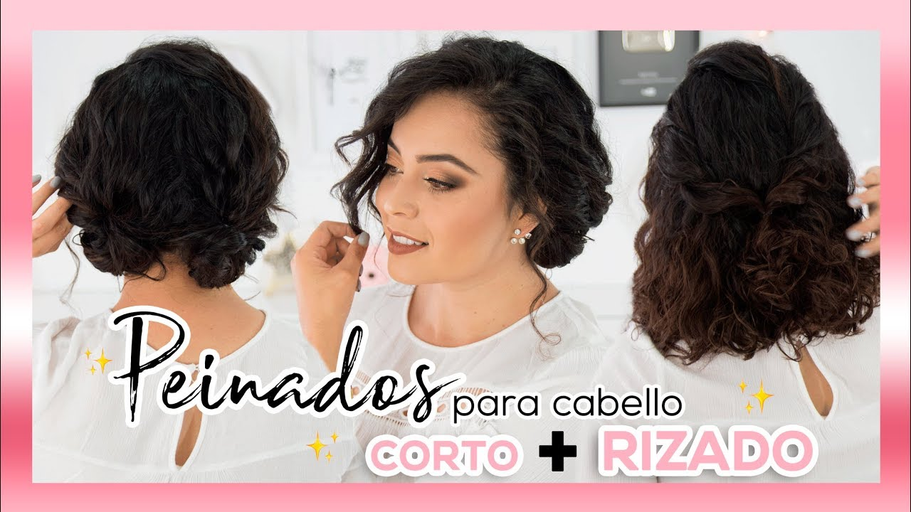 Cómo Hacer Peinados Para Pelo Rizado Corto Y Largo Videos