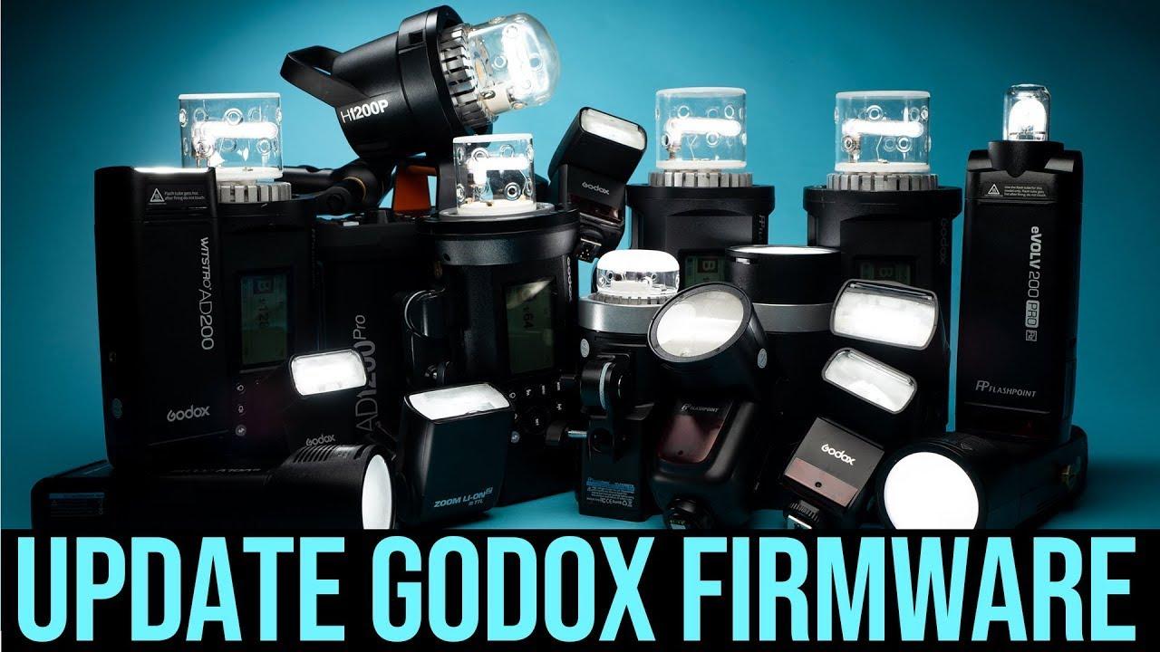 How To Update Godox Firmware Ad200 Ad600 Ad400 Ad300 V860ii V1 Youtube