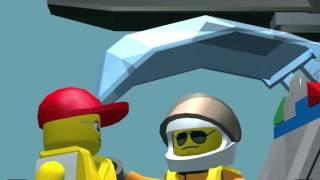 Лего Сити! Lego City! My City! Спасательный вертолет! Серия 12! Игра! Прохождение!