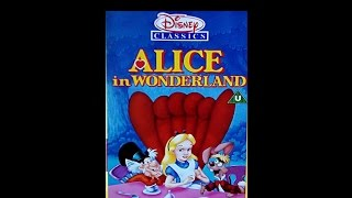 Digitized opening to Alice In Wonderland UK VHS - version 3