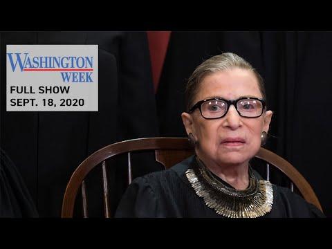 #WashWeekPBS Full Episode: Supreme Court Justice Ruth Bader Ginsburg's Life and Legacy
