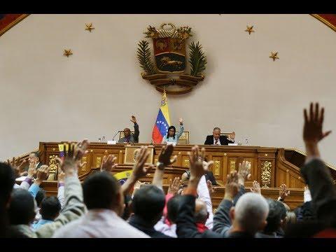 Asamblea Nacional Constituyente, sesión completa: aprueba Ley contra el Odio, 9 noviembre 2017
