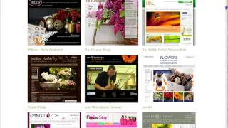 Florist Window - Ecommece Websites for Florists