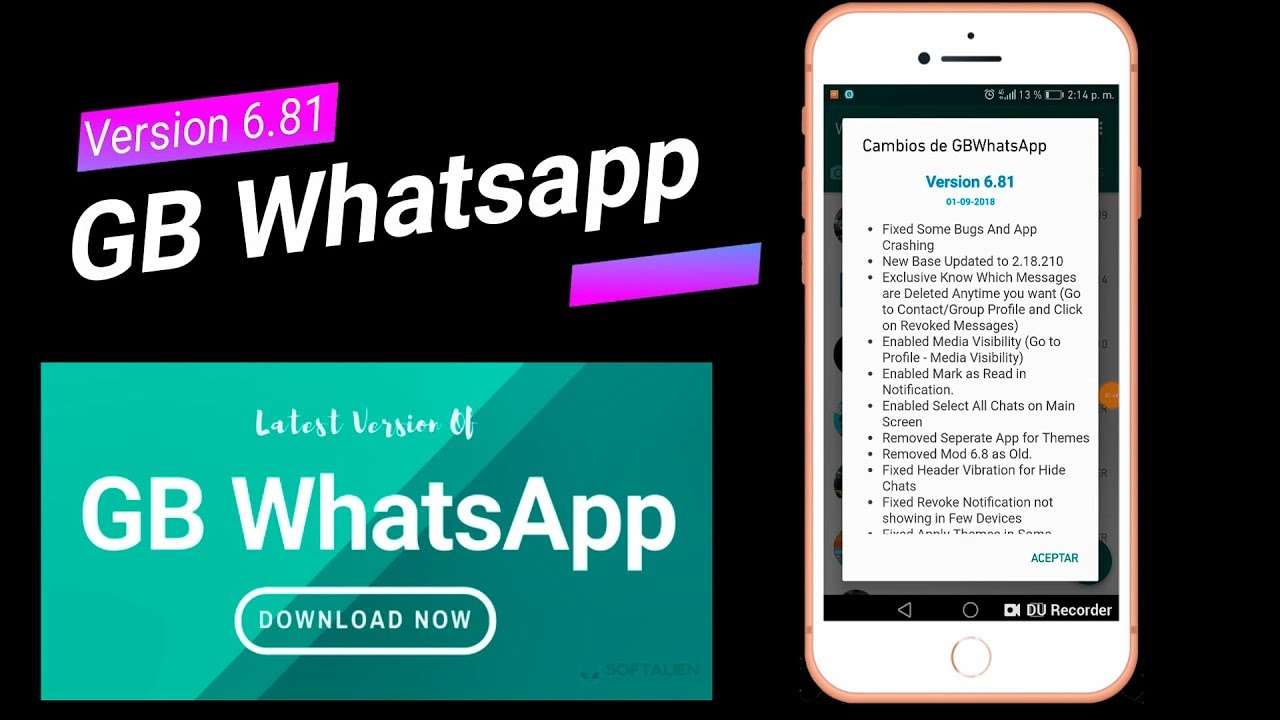 gb whatsapp 6 81