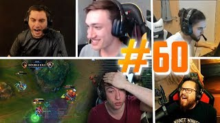 LES OUTPLAYS DE SARDOCHE SUR LOL - BEST OF STREAM FR #60 (Avec Alderiate, Mistermv, ScreaM...)