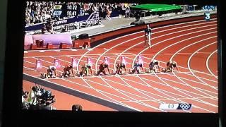 1er epreuve du decathlon (100m H)Fin de course fin