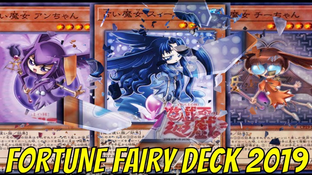 [YGOPRO] FORTUNE FAIRY DECK 7/2019 | ft  FORTUNE LADY