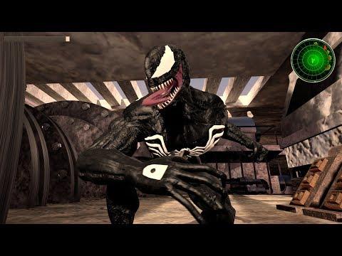 Spider-Man vs. Venom vs. Carnage - Spider-Man Ultimate Game - Venom Hangar One
