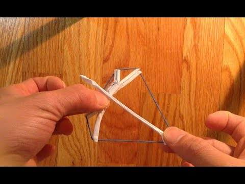 Origami bow and arrow - YouTube - photo#29