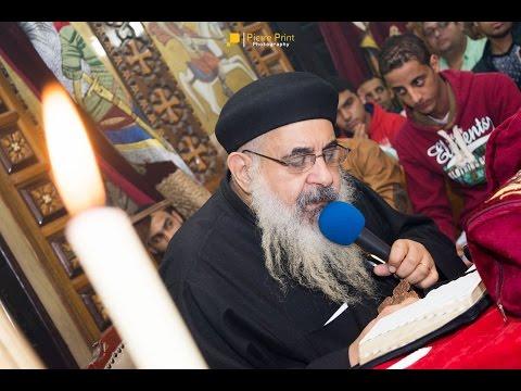 عشية لقدس ابونا انطونيوس سعد 13-11-2015 - الجزء الأول