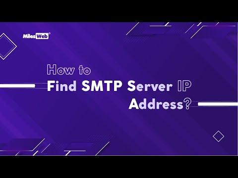 How To Find My SMTP Server IP Address? | MilesWeb