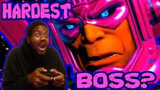 """Just Playing ULTIMATE MARVEL VS CAPCOM 3 (2011) """"IS GALACTUS THE HARDEST FIGHTING GAME BOSS???"""""""