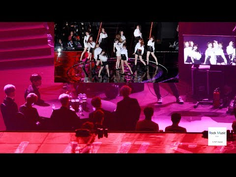 BTS REACTION TO IZ*ONE STAGE La Vie en Rose[4K]@190115