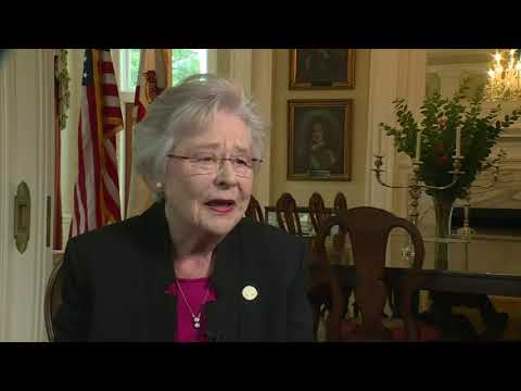 Alabama Gov. Kay Ivey denies being gay in interview with WVTM 13