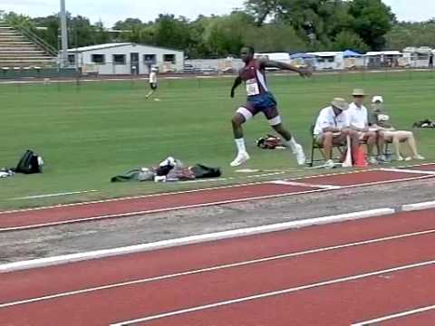 Marquise Goodwin Triple Jump 50 Feet 3 in