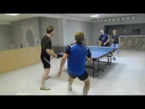 table tennis Academtour 5-й парный. Смирнов+Захаров - Шинкевич+Кутненко
