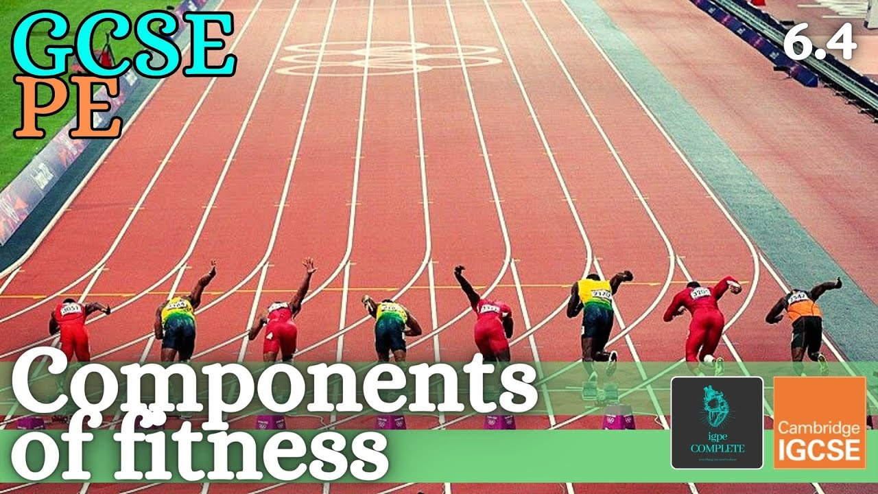 GCSE PE – COMPONENTS OF FITNESS – Health-related & skill-related – (Health, Fitness & Training 6.4)