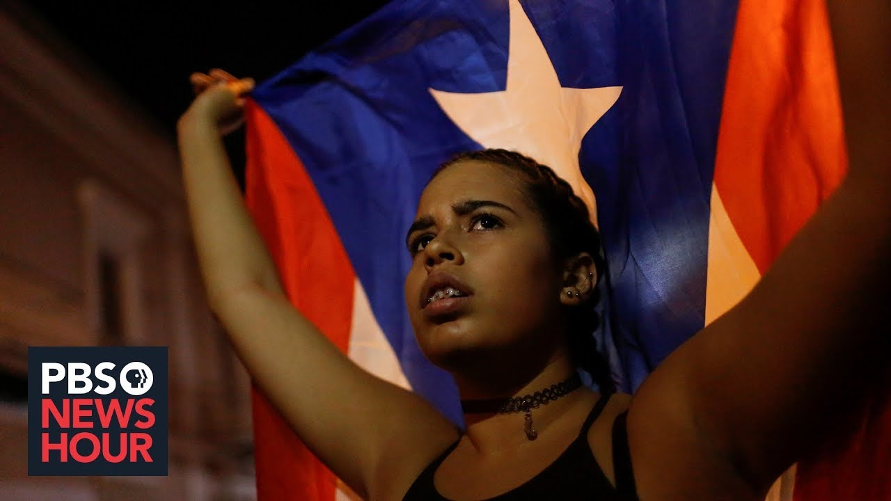 Awaiting decision from Rossello, Puerto Ricans are in an