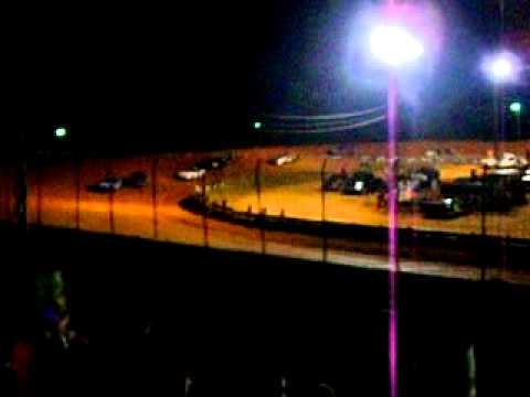 8-21-2010 Central Alabama Motor Speedway Buzz Feature Winner #02jr Jeremy Forsythe