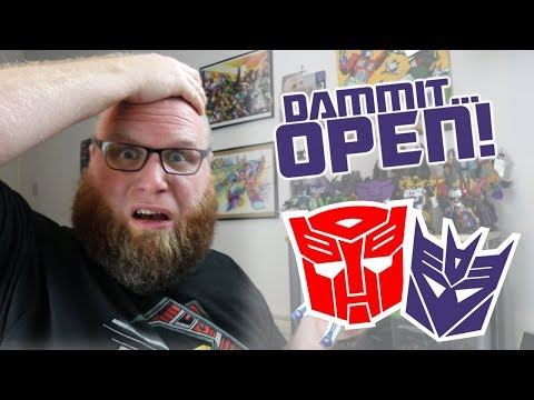 Dammit, Open: Til All Are Small! Transformers and Third Party Toys Unboxing!