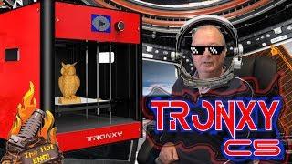 TRONXY C5 Review! 210x210x210 Pre-Built 3D Printer!