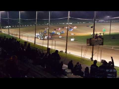 Steven Bowers Jr feature 5-14-16 hood flew up lost the race