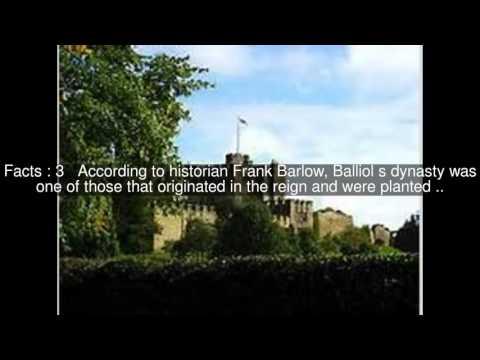 Guy I de Balliol Top  #5 Facts