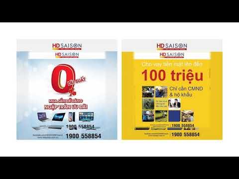 Vay Tiền Mặt Của HD Saigon - Vay Tín Chấp HD Saigon
