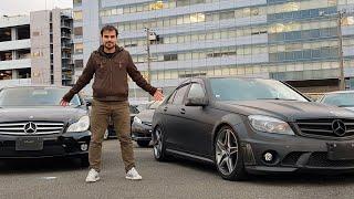 Bu Fiyata Mercedes AMG mi olur! C63 AMG 14.000, Japonya'dan Almanya'ya | Japonic