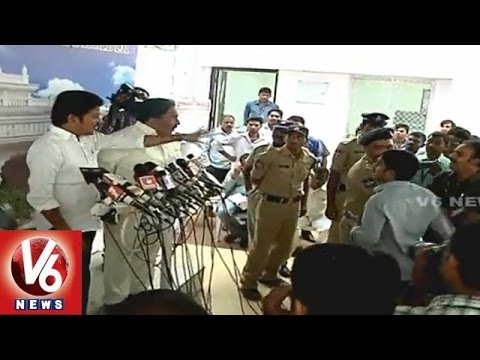 Revanth Reddy Fires On Media At Telangana Assembly (09-03-2015)