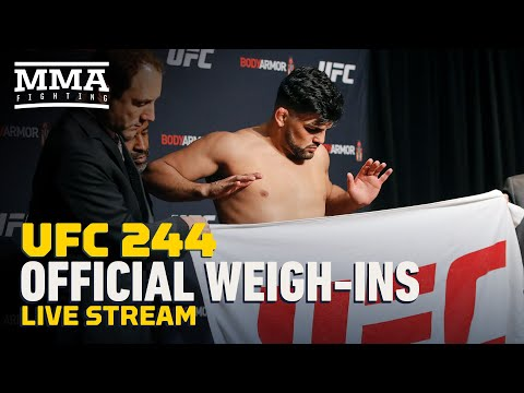 UFC 244 Official Weigh-In Live Stream  - MMA Fighting