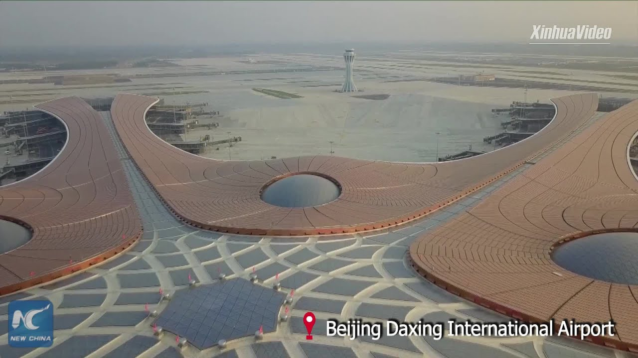Download Giant aircraft maintenance hangar put into use at Beijing Daxing Int'l Airport