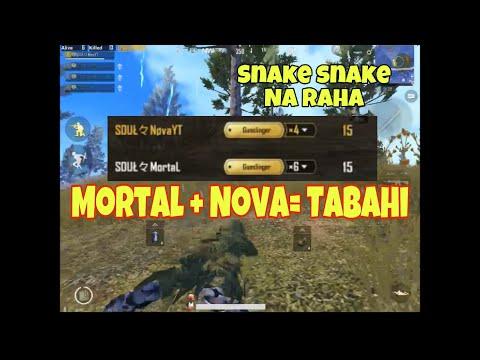 """Nova + Mortal """"30 kills""""  Pubg Mobile  Sad Season 4 End"""
