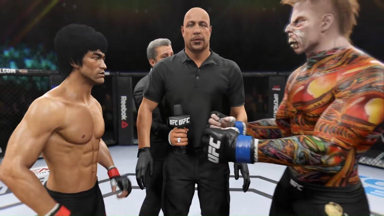 Bruce Lee vs. Pharaoh Mummy - EA Sports UFC 2
