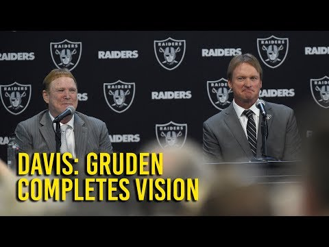 Mark Davis: Gruden completes vision for Oakland Raiders