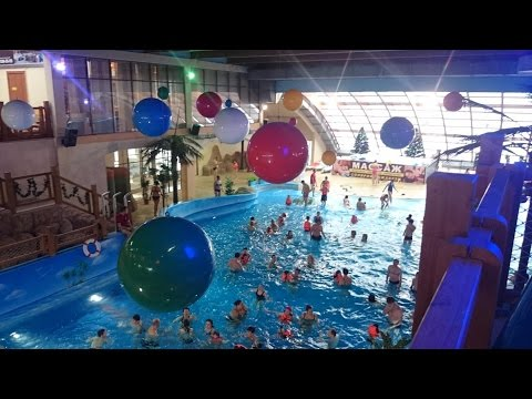 Аквапарк Ривьера, Казань, 7 января 2016 - Water park Riviera, Kazan