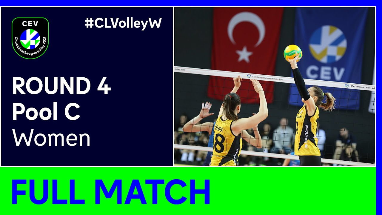 VakifBank ISTANBUL VB vs. VC Maritza PLOVDIV - CEV Champions League Volley 2021 Women Round 4