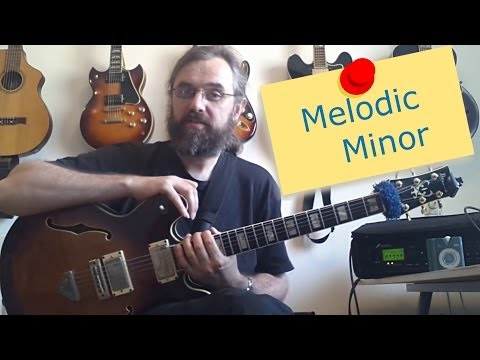 Melodic minor - an introduction