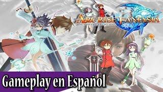 Arc Rise Fantasia - Gameplay en Español: Uno de los mejores RPGs de Wii (Exclusivo)