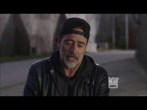 Talking Dead  Jeffrey Dean Morgan on Negan working with Gabriel