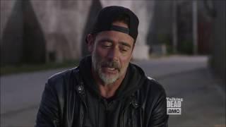 Talking Dead - Jeffrey Dean Morgan on Negan working with Gabriel