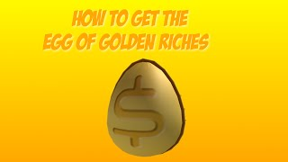 How to get the Egg of Golden Riches at the ROBLOX Egg Hunt 2015