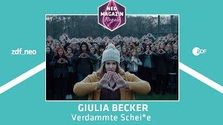 Giulia Becker - &quotVerdammte Scheie&quot NEO MAGAZIN ROYALE mit Jan Bohmermann - ZDFneo