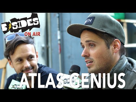 "B-Sides On-Air: Interview - Atlas Genius Talk ""Inanimate Objects"", Shark Encounter"