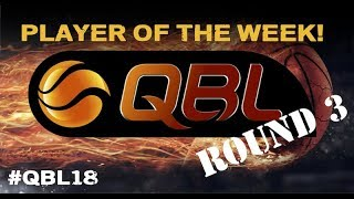 QBL 2018 Round 3 Player of the Week, Men - Kyle Harvey Ipswich Force