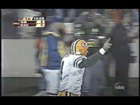 Packers' Favre record breaking 40,000 yards vs Bears: 10.07.2002