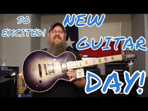CMG Guitars RNA Music Custom Ashlee Unboxing!